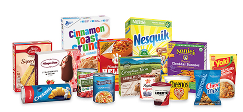 General Mills, brands at a glance