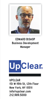Edward Bishop, Business Development Manager, Upclear head shot