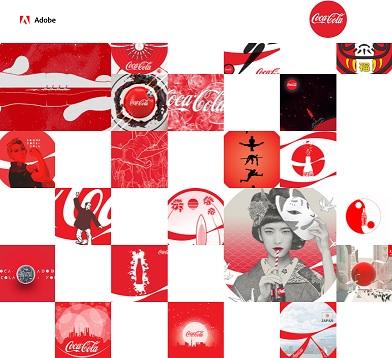 Coke Adobe Campaign