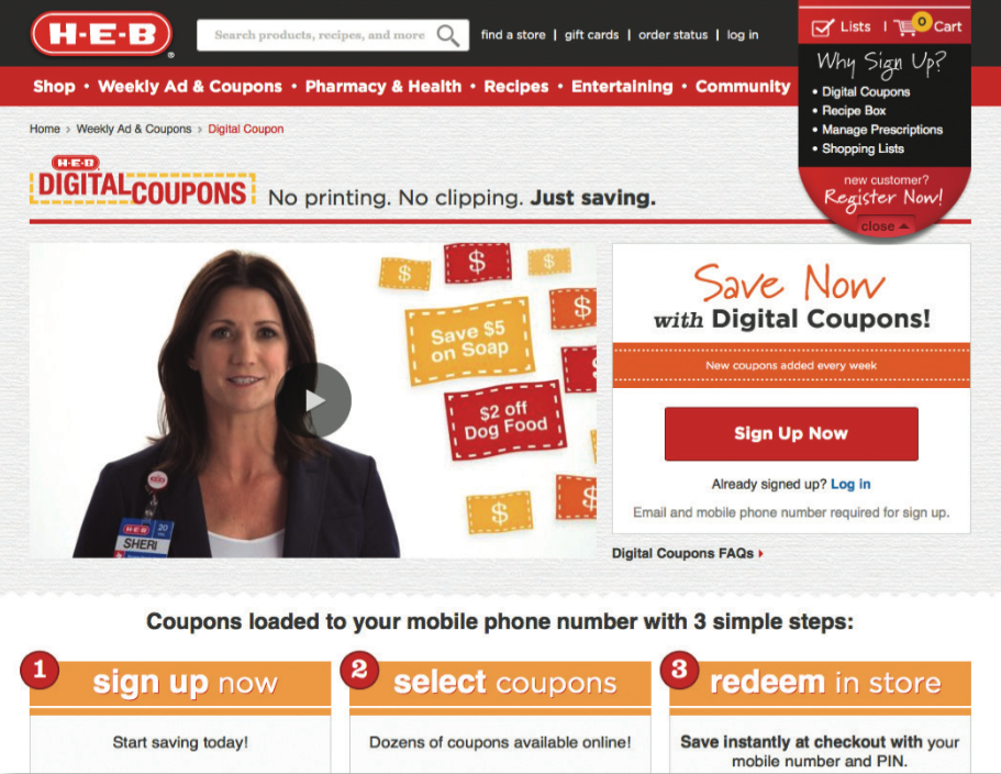 How Much Do Web Coupons Tell Retailers >> Digital Coupons At Retail Rise