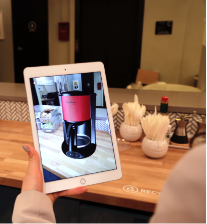 Augment augmented reality for product showcasing
