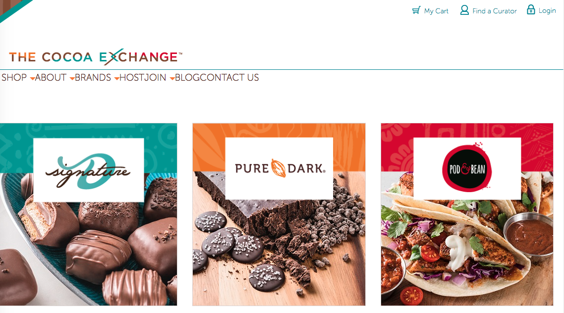 Cocoa exchange direct sales