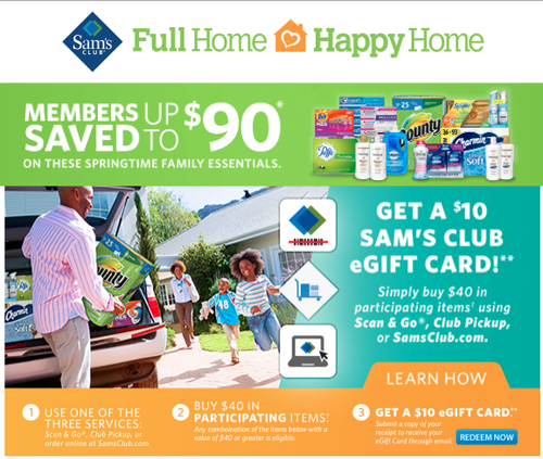 P G Makes A Happy Home At Sam S Club Consumer Goods Technology