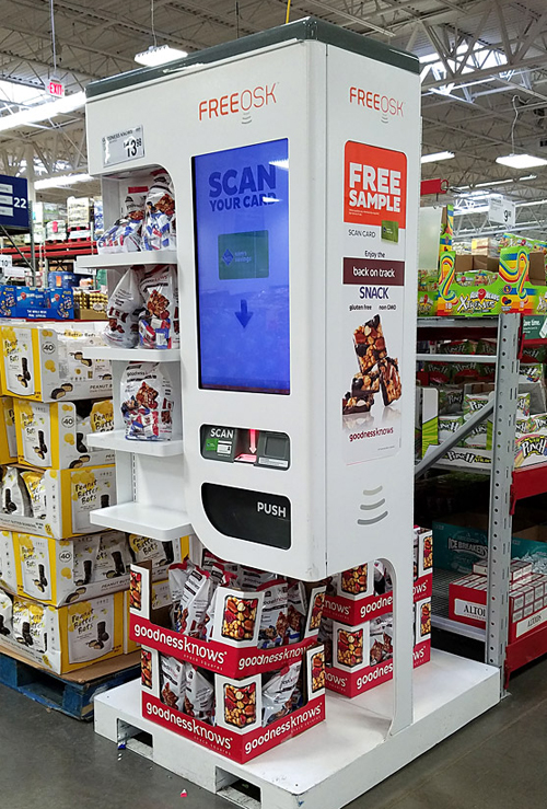 Sam's Club Automates In-Store Sampling | Consumer Goods Technology