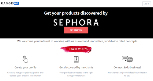 Sephora - Get Your Products Discovered with RangeMe