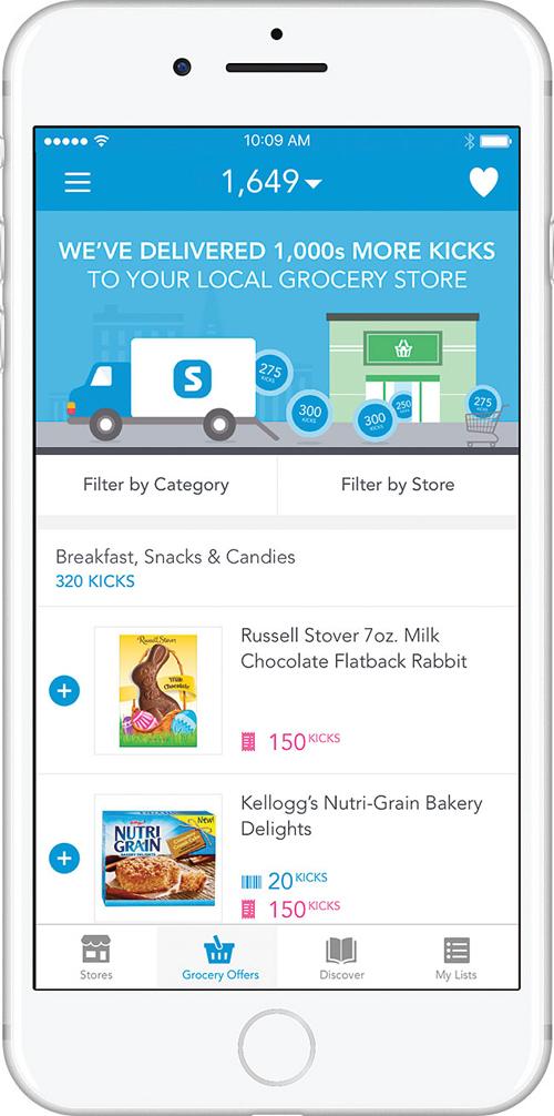Shopkick grocery app