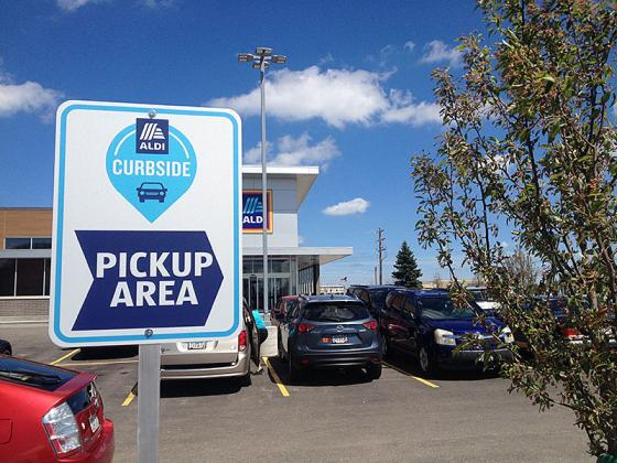 Aldi Tests Curbside Pickup Consumer Goods Technology