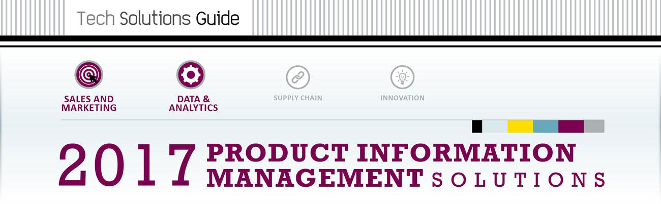 2017 Product Information Management Solutions Guide hero image
