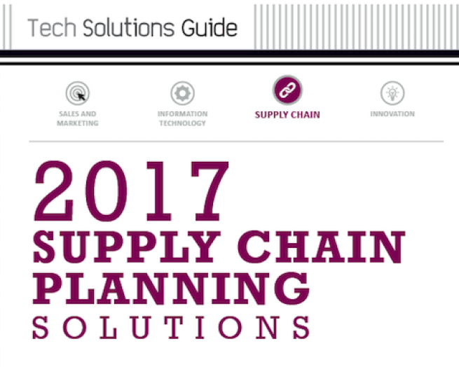 2017 Supply Chain Planning Solutions | Path to Purchase IQ