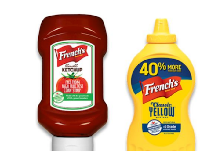 Reckitt Benckisner French's brand mustard and ketchup