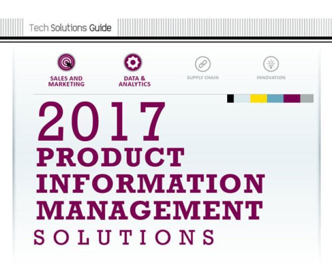 2017 Product Information Management Solutions Guide teaser image