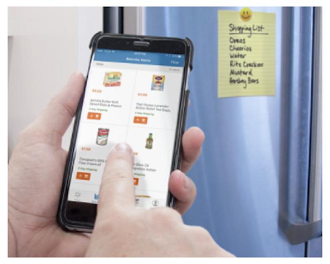 Walmart reorder app