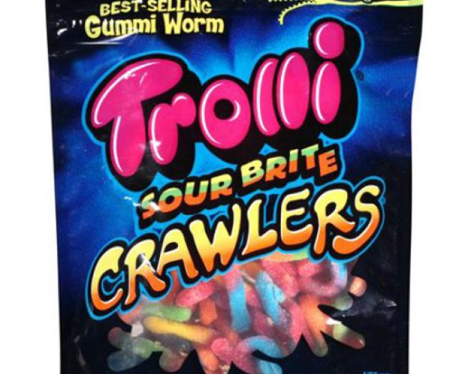 Trolli packaging