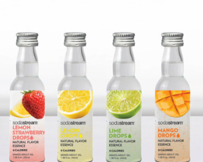 sodastream fruit drops line