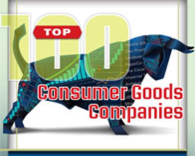 top 100 consumer goods companies