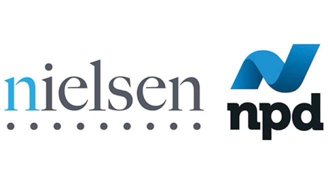 Nielsen and npd logos