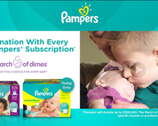 Pampers Prime Day Promotion