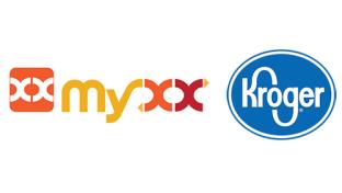 Myxx & Kroger logos